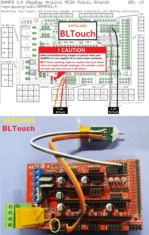 Dream it! Print it! - How do I connect my BLTouch to my main